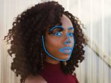 Gesichtserkennung - leicht seitlich
